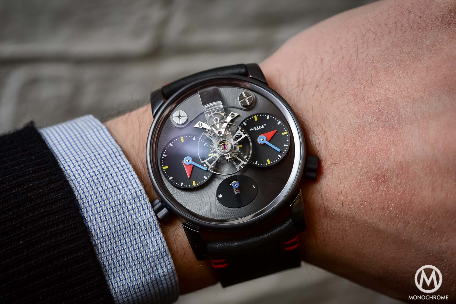 Hands-on Review - The new MB&F LM1 Silberstein