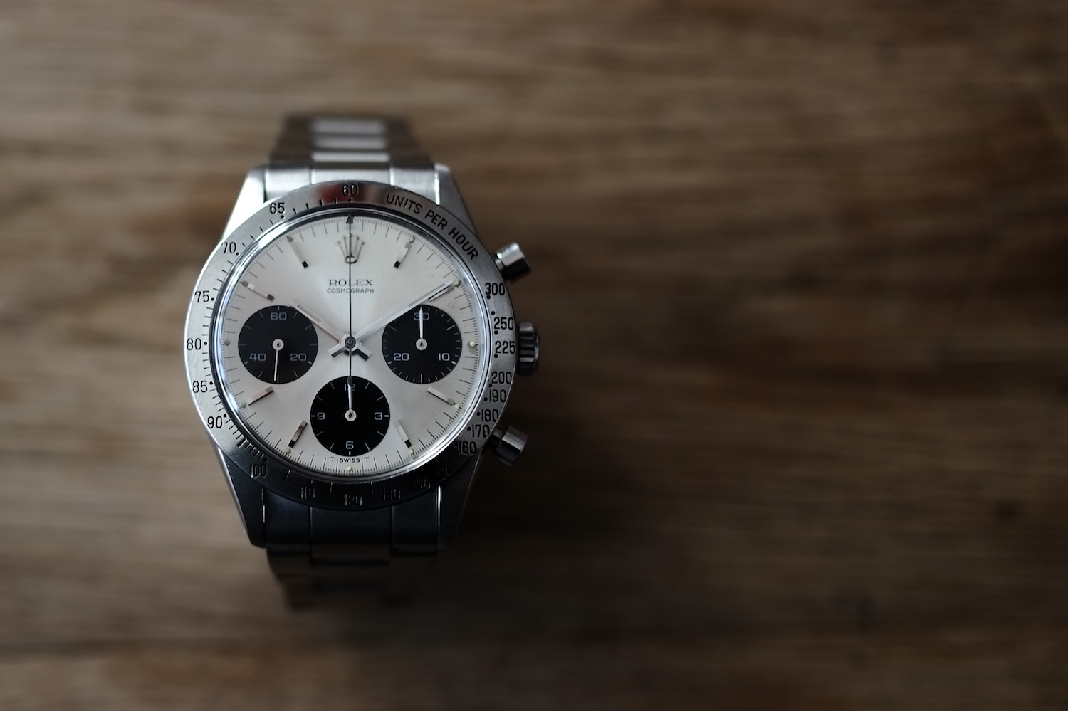 The Collector's Series - Kristian Haagen and his sexy, early Vintage Rolex Daytona 6239 - Monochrome Watches