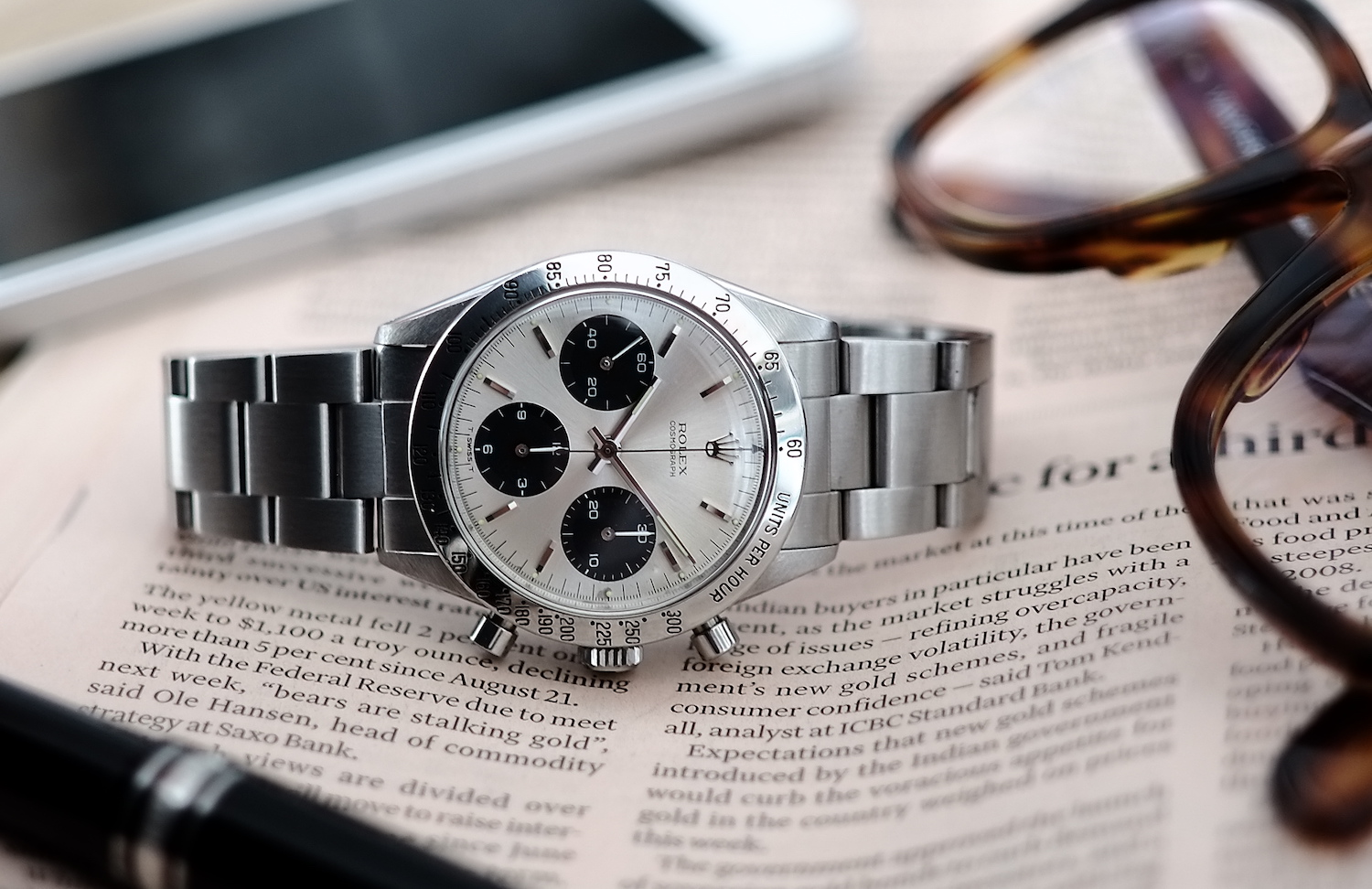 Rolex Daytona 6239 vintage early edition - Collectors Series - Kristian Haagen - 4