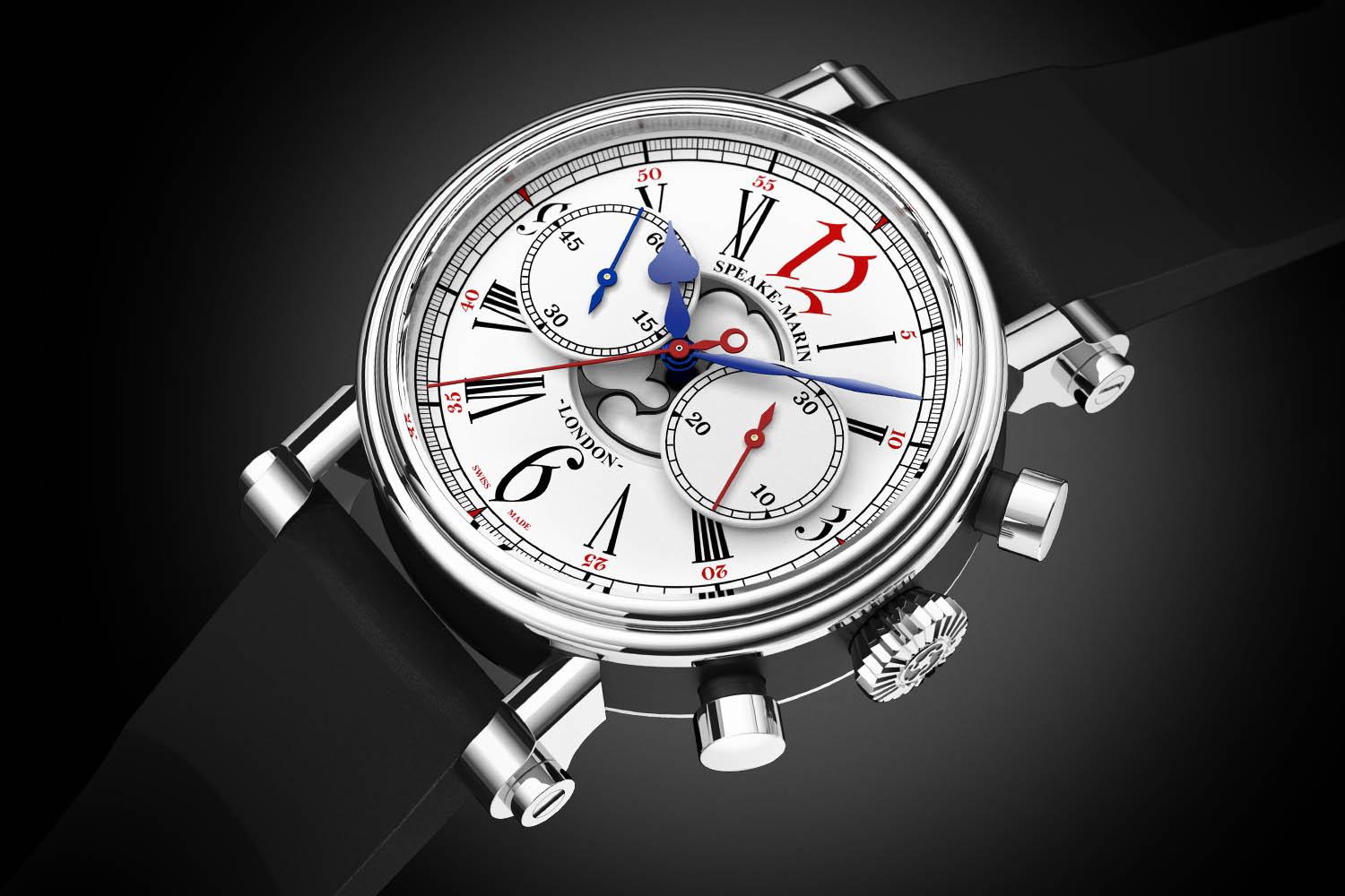 Introducing – Speake-Marin London Chronograph Special Edition for Harrods, with vintage Valjoux 92 movement (specs & price)