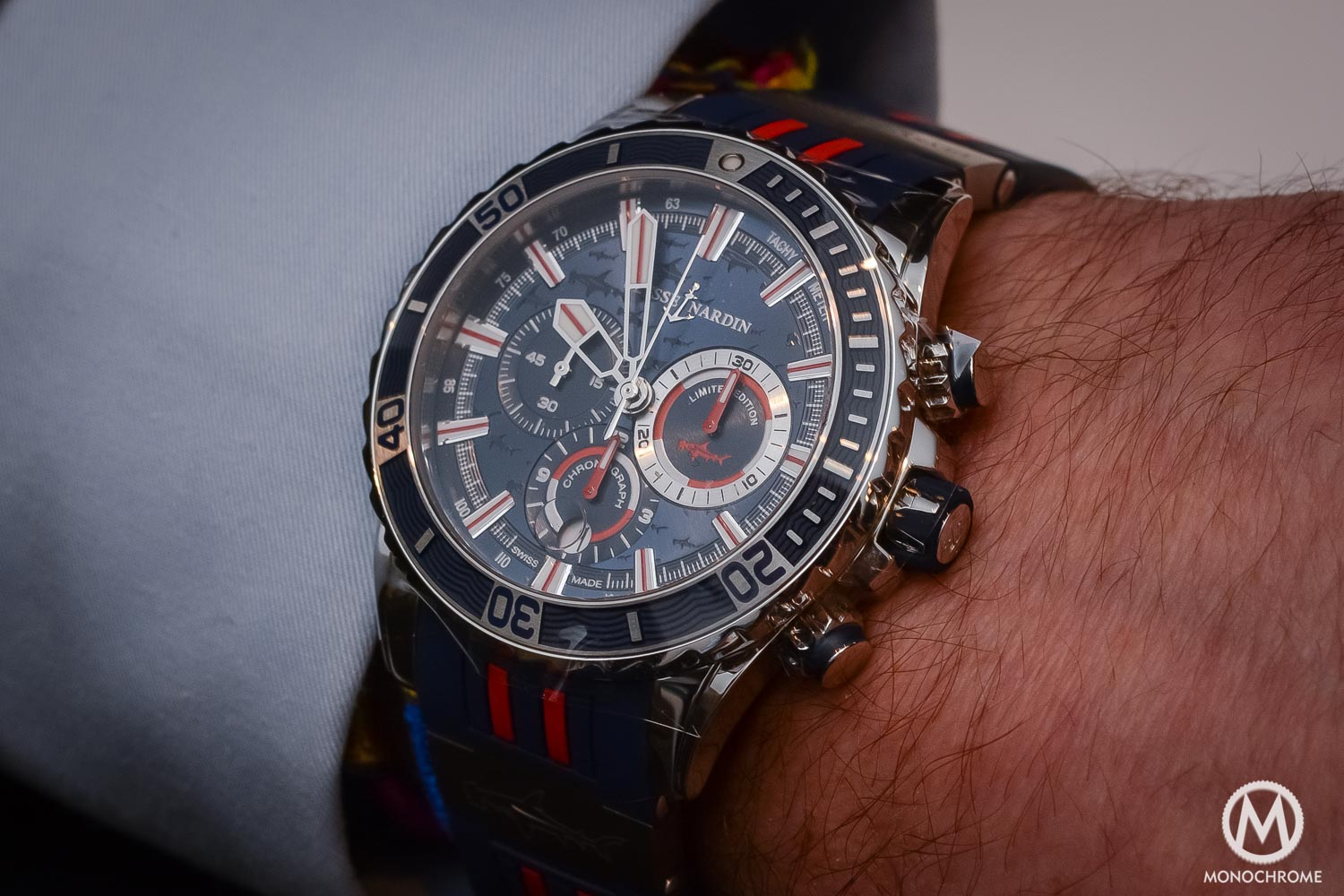Introducing - Ulysse Nardin Diver Chronograph Hammerhead Shark (live photos)
