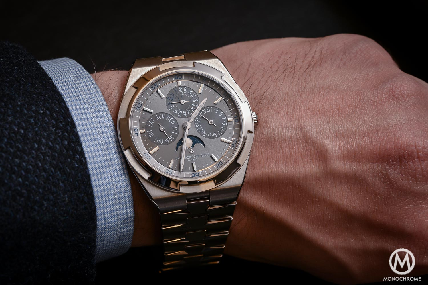 Hands-on Review – Vacheron Constantin Overseas Ultra-Thin Perpetual Calendar (Live pics & price) – and why a QP is relevant in such a sports-watch