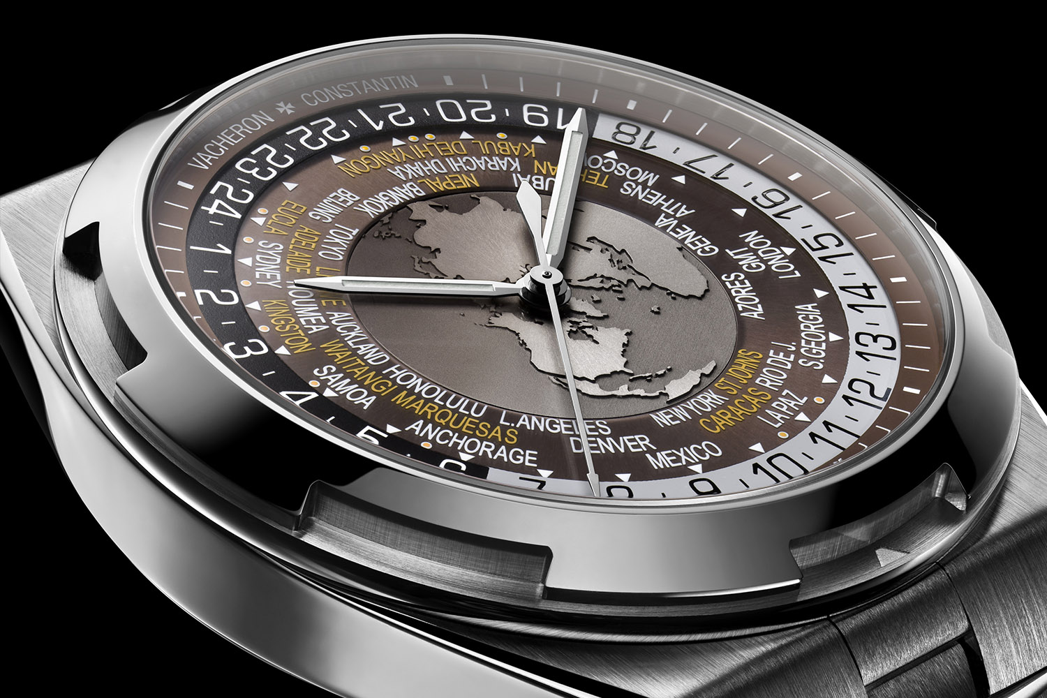 Introducing: Vacheron Constantin Overseas World Time 7700V, the luxury worldtimer sports watch – Specs and Price