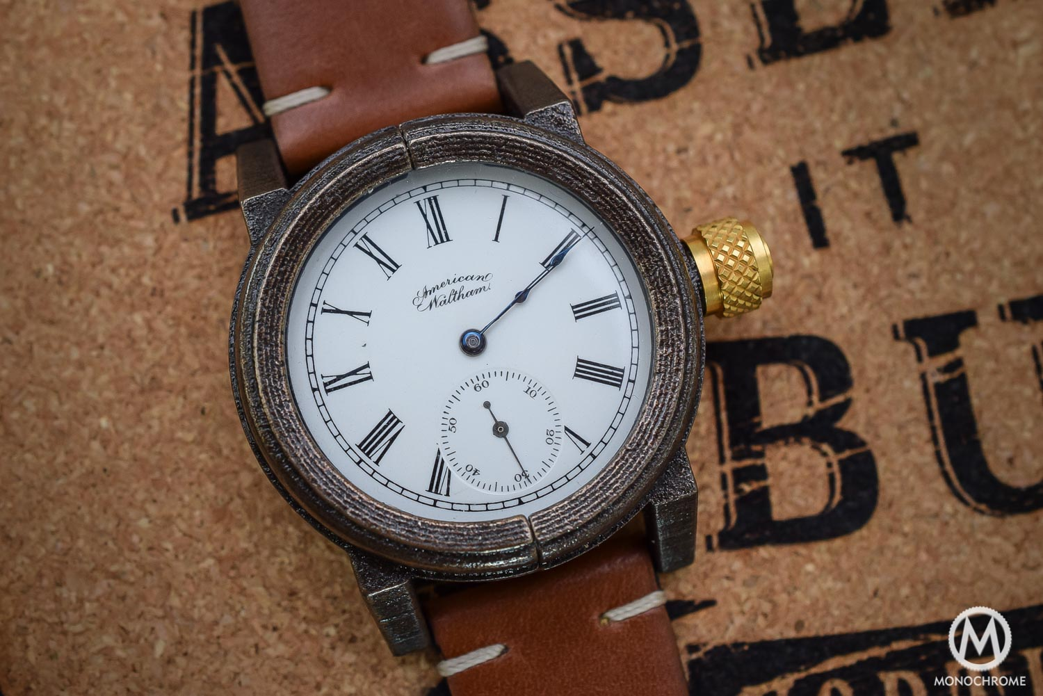 Vortic Watch Co - antique movements and 3D printed cases - 3