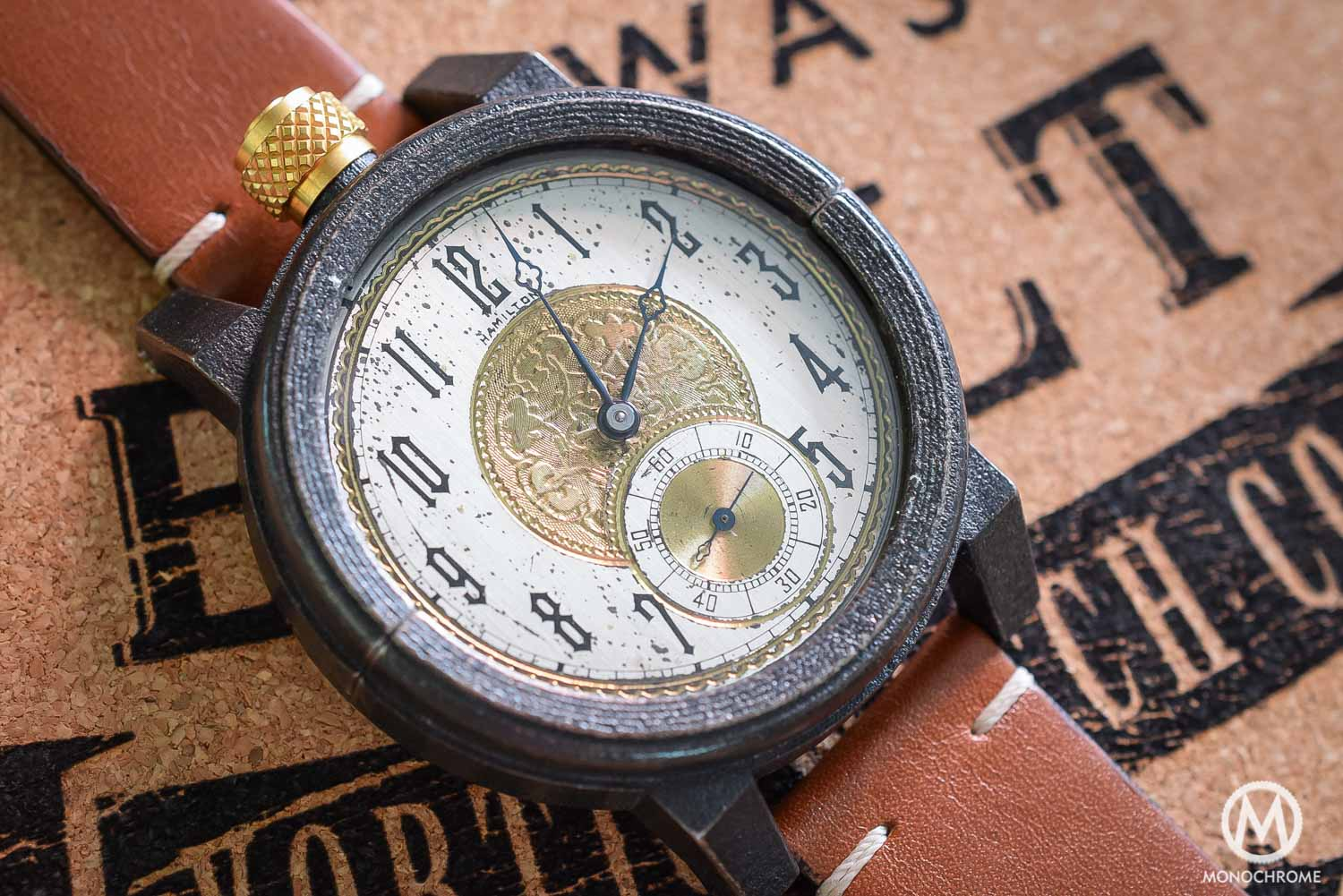 Vortic Watch Co - antique movements and 3D printed cases - 8