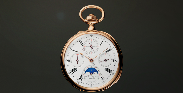 Jules Louis Audemars pocket watch