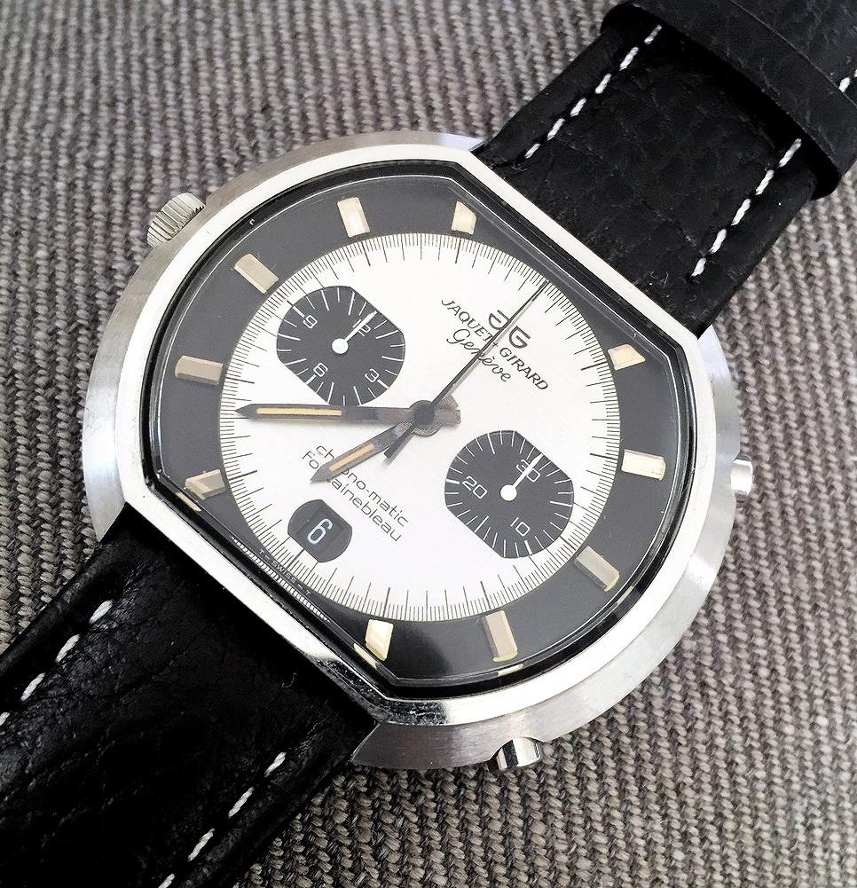 Chronographs for Collectors: Hamilton Fontainebleau Chronomatic Calibre 11