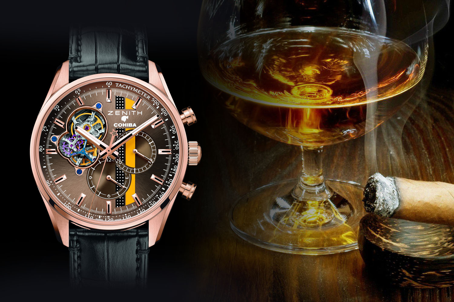 Booze and Havana - 4 watches inspired by fine alcohols and cigars from Hublot, Zenith, Armin Strom and Speake-Marin