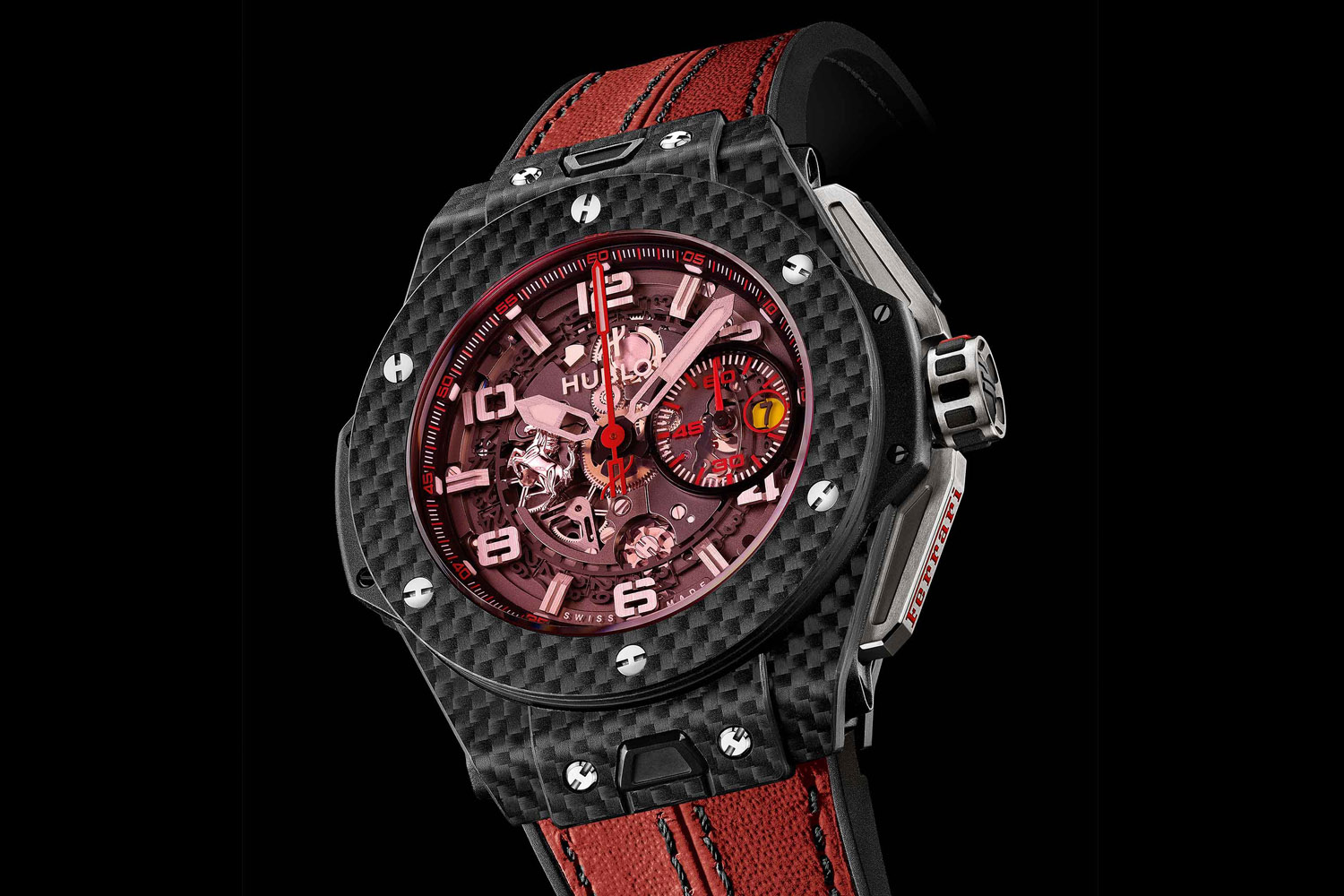 Hublot Ferrari Big Bang Red Magic Carbon