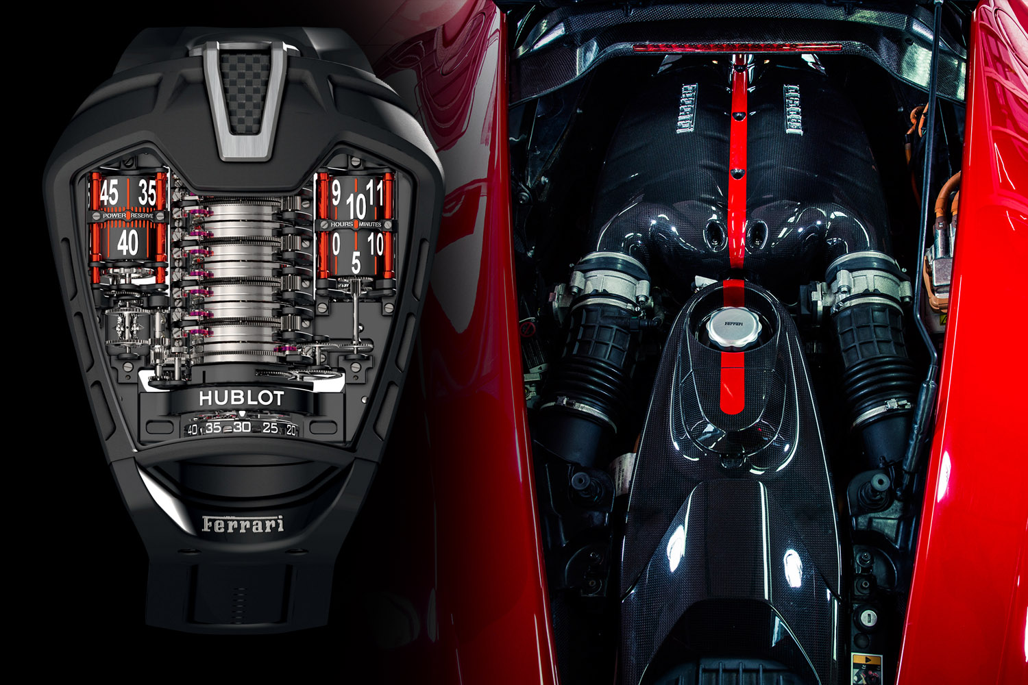 Hublot MP-05 Laferrari engine