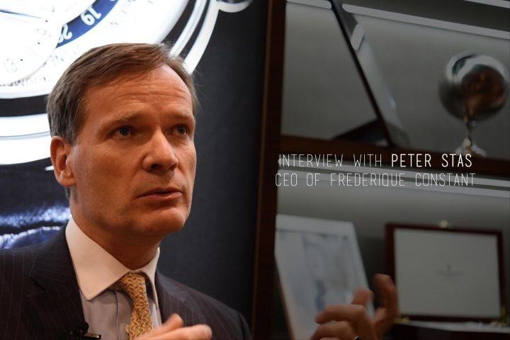 Interview with Peter Stas - CEO Frederique Constant - about the new Perpetual Calendar (Baselworld 2016)