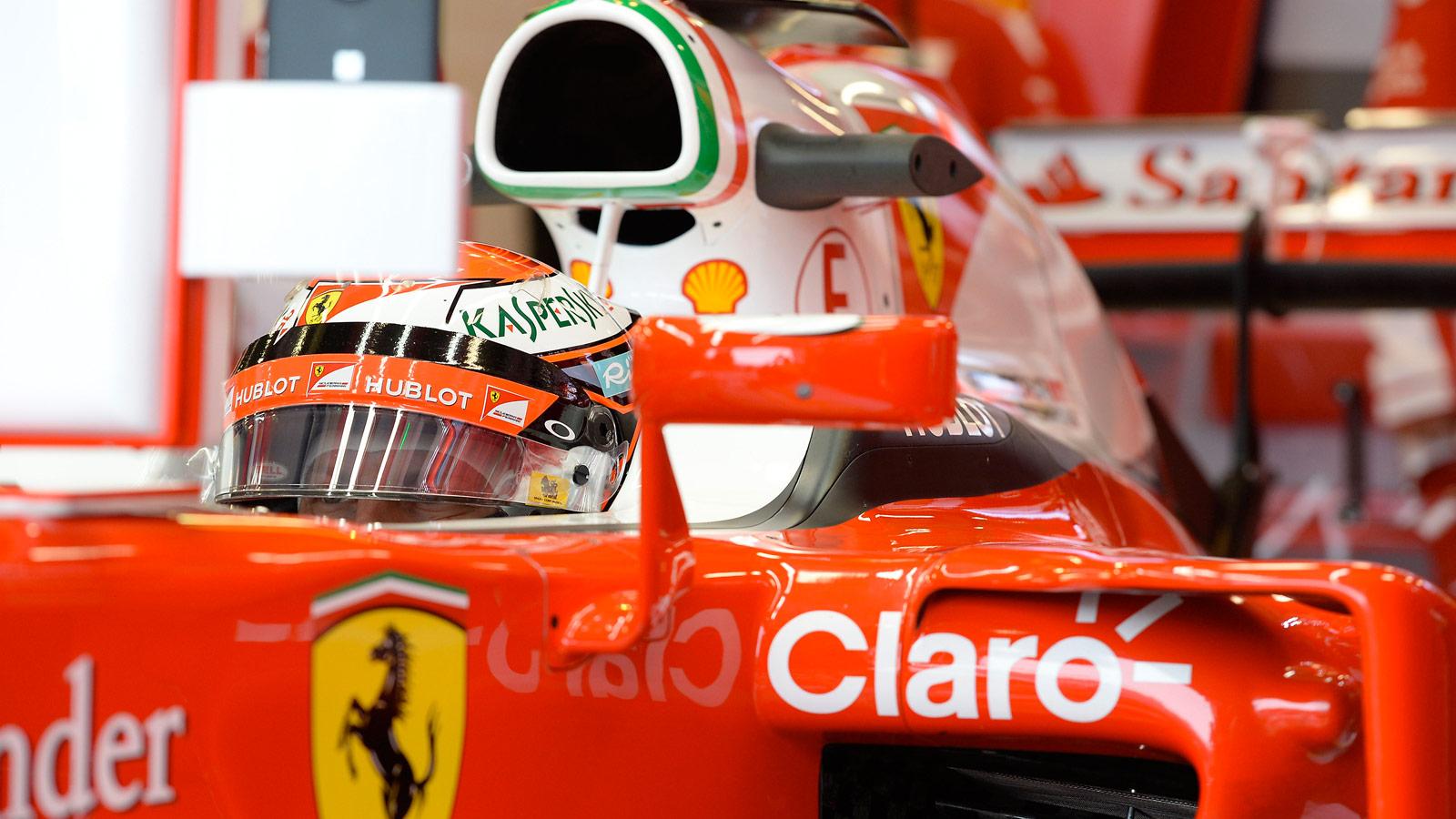 Kimi Raikkonen Hublot Ferrari 2