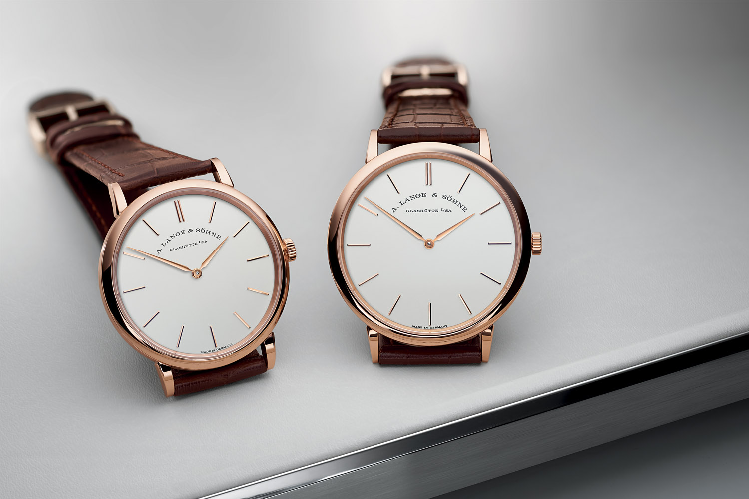 A. Lange & Söhne Saxonia Thin 37mm and 40mm