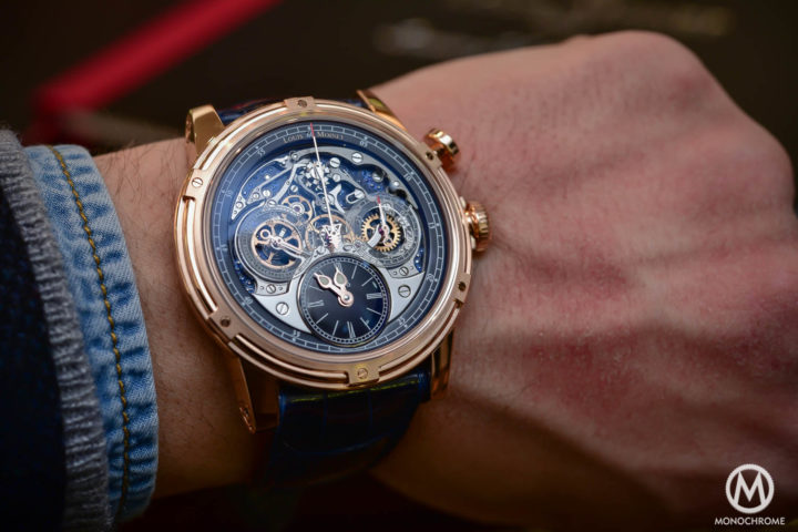Video – Louis Moinet Celebrates the 200th Anniversary of the Chronograph with the Memoris 200th edition (live pics & price)