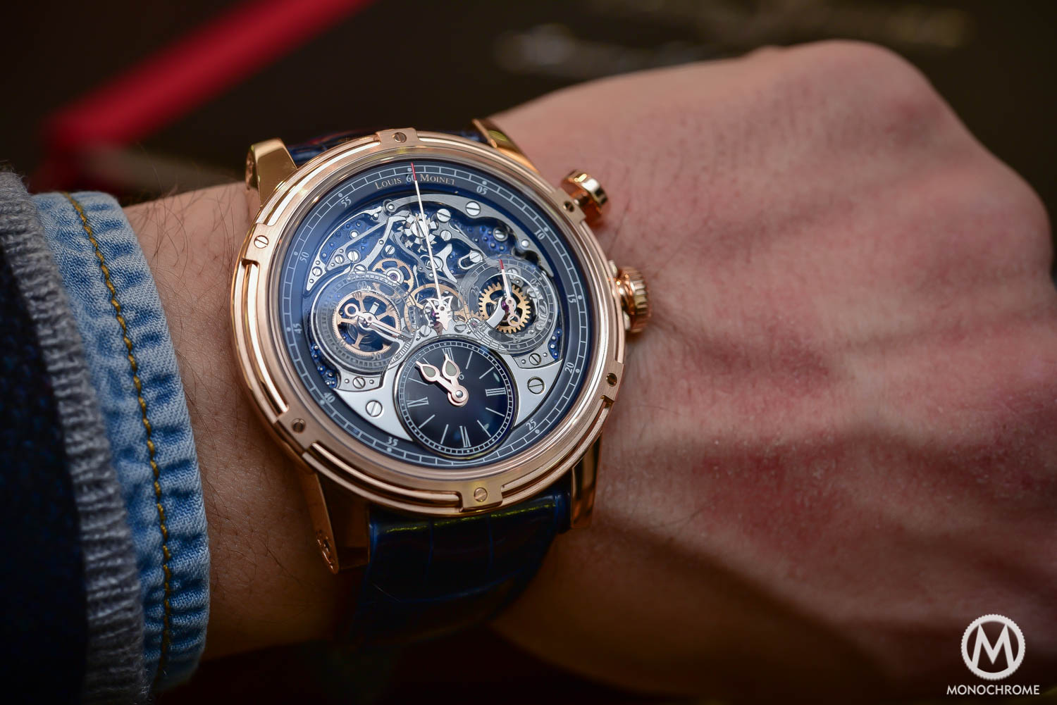 Louis Moinet Celebrates the 200th Anniversary of the Chronograph with the Memoris 200th edition (live pics & price) - Monochrome Watches