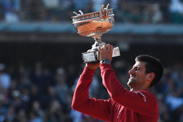 Novak Djokovic - French Open Roland Garros 2016 - Seiko Astron GPS Solar Dual Time