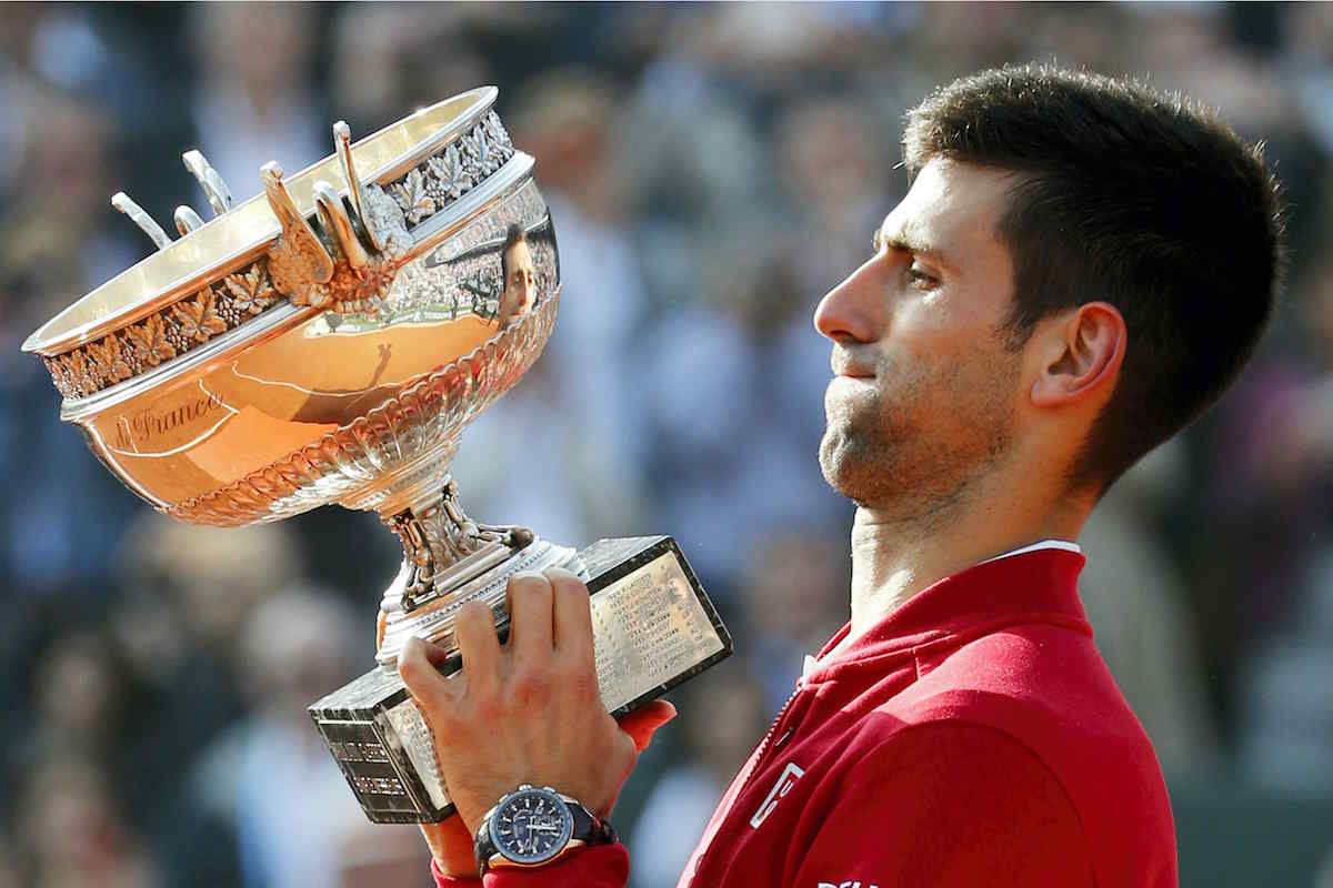 SPOTTED – Novak Djokovic, winner of French Open Roland Garros 2016, wearing Seiko Astron GPS Solar Dual Time Limited Edition