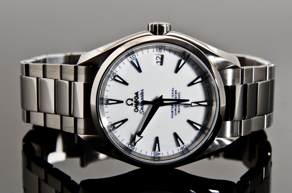 5 cool finds an iconic iwc a underrated rolex a rare omega a stylish zenith and a luxurious for Aqua marine watches