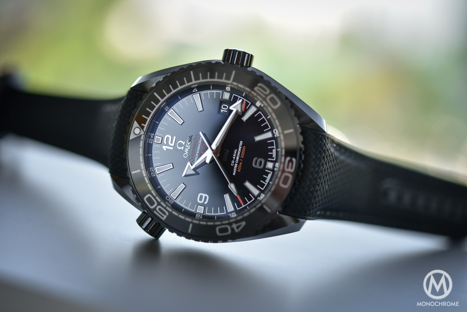 Introducing Omega Seamaster Planet Ocean Deep Black