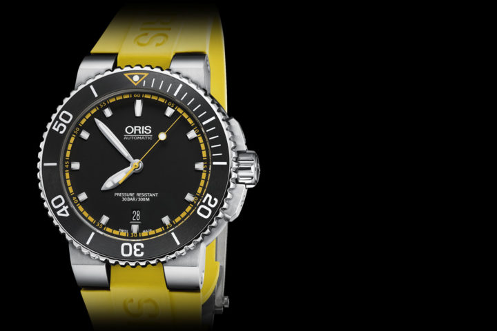 Oris Aquis Date - new colors - 2016 collection