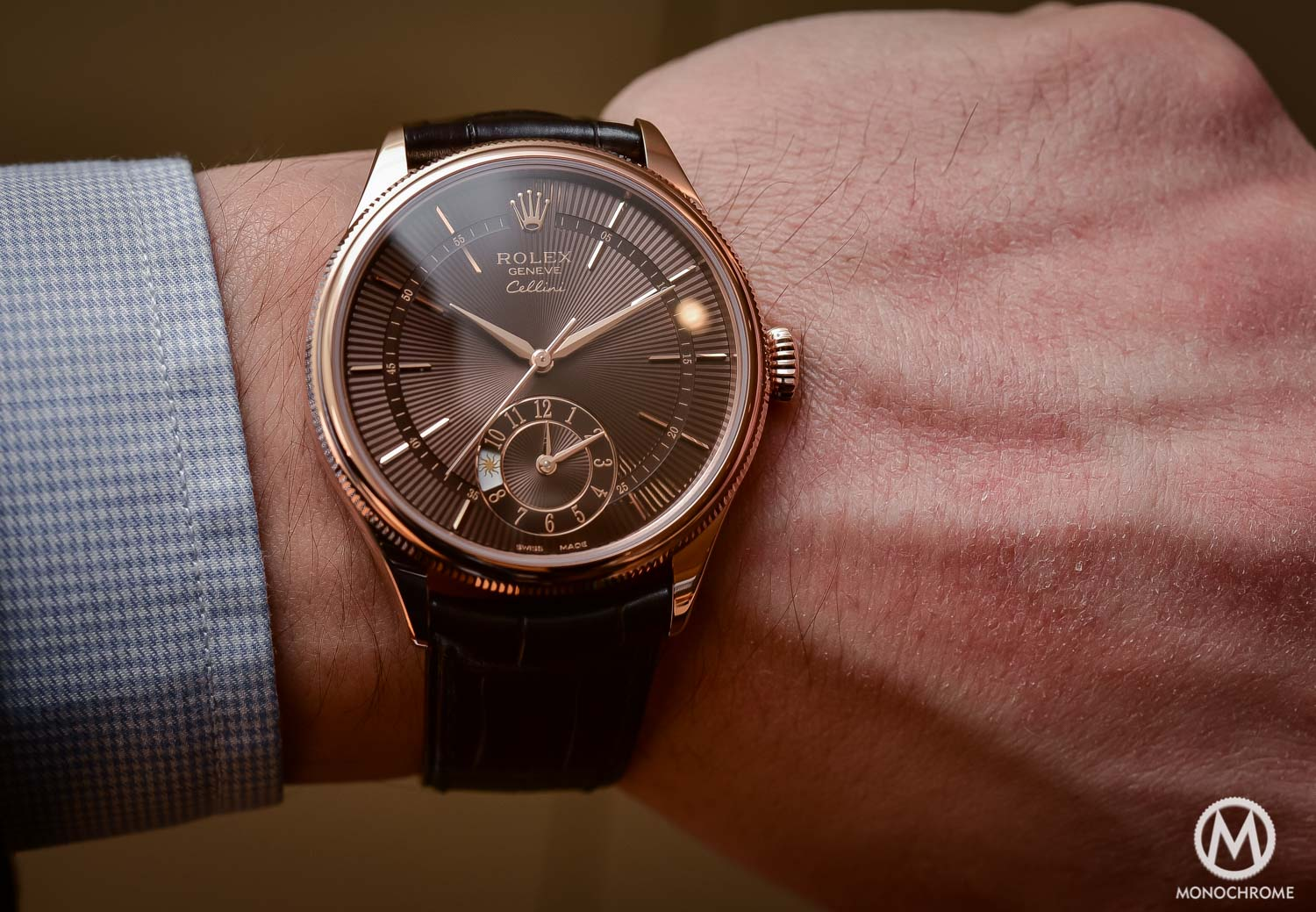 Hands-On – New Rolex Cellini 2016 editions, including the brown Dual Time and the Blue Date (Live photos, specs & price)