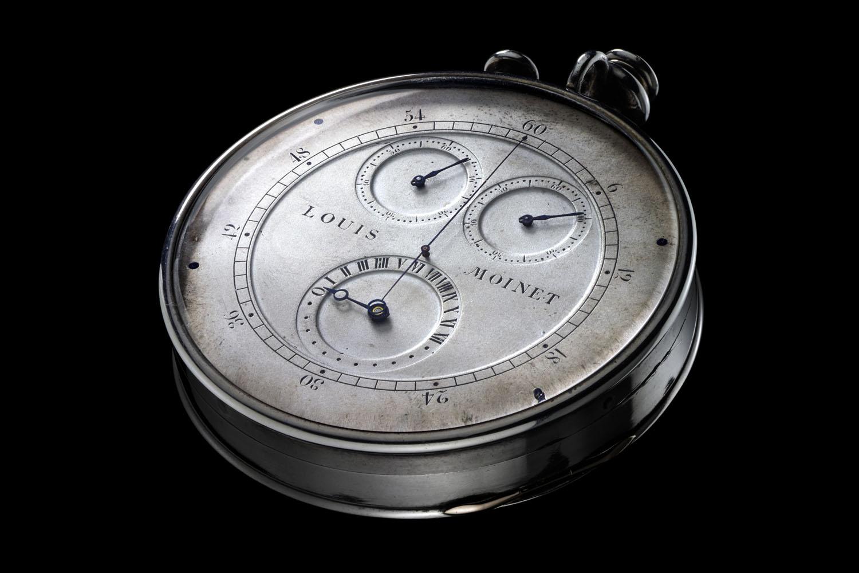 louis Moinet Compteur de tierces - first ever chronograph