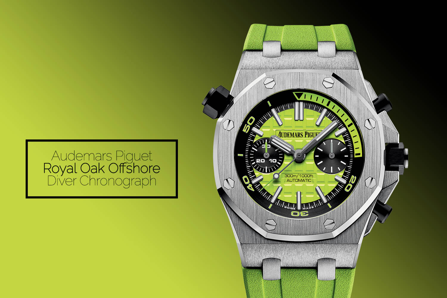 Audemars Piguet Royal Oak Offshore Diver Chronograph Lime Green