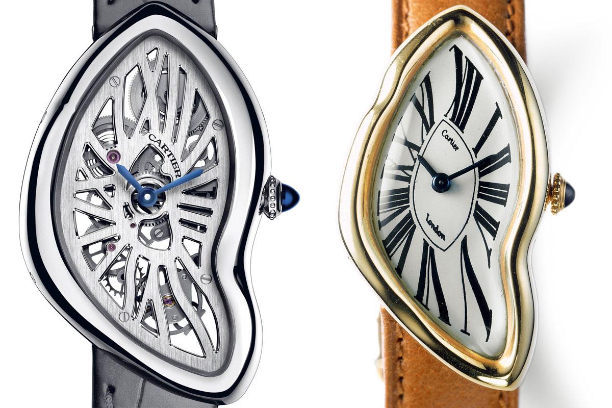 Cartier crash vintage and skeleton 2015