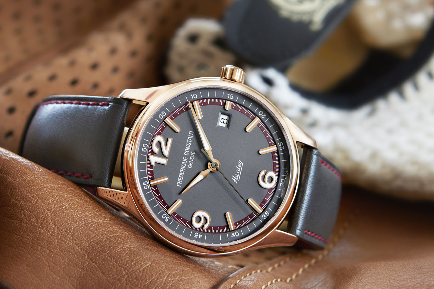 Introducing Frederique Constant Vintage Rally Limited Edition Austin Healey Specs