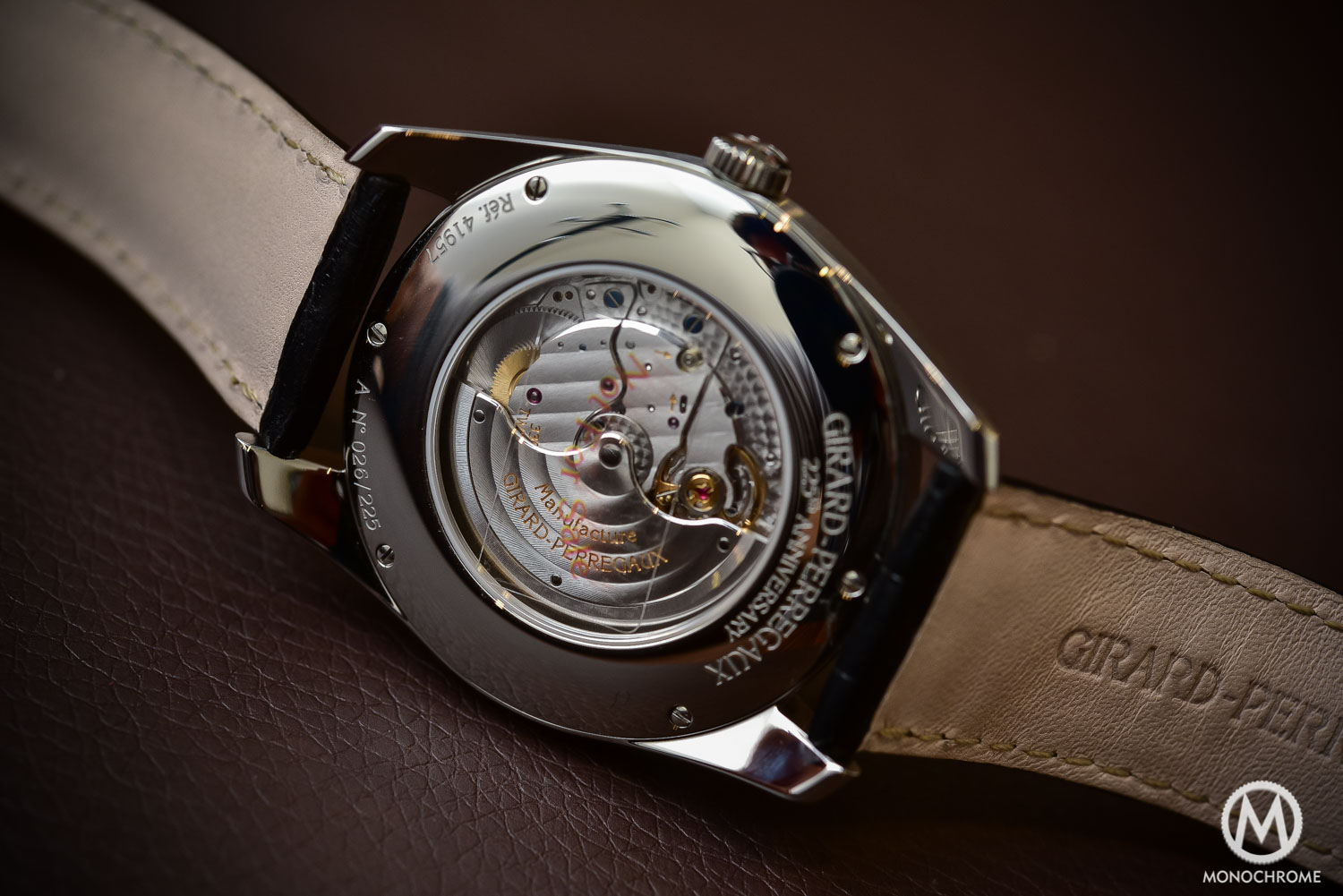 Girard-Perregaux 1957 - tribute to Gyromatic