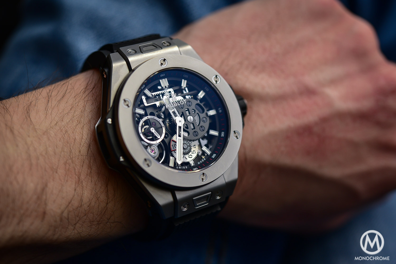 Hands On Hublot Big Bang Meca 10 With The Brand S New
