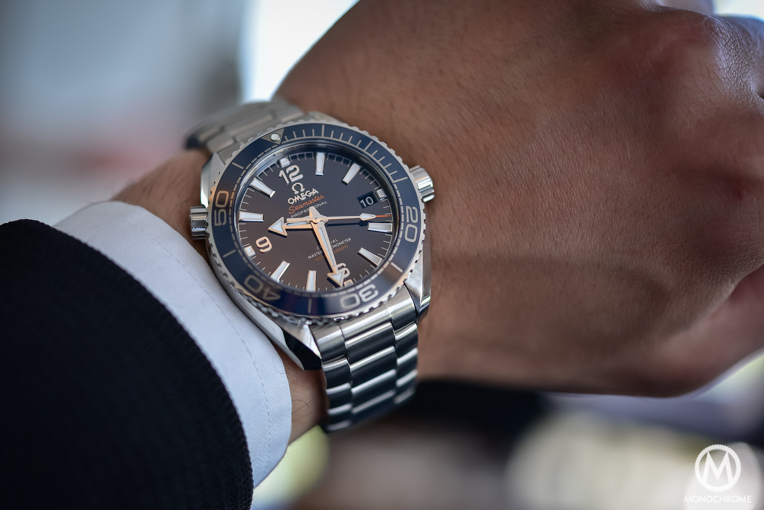 black gold detailed omega deep a sedna the gmt at seamaster look watches planet ocean
