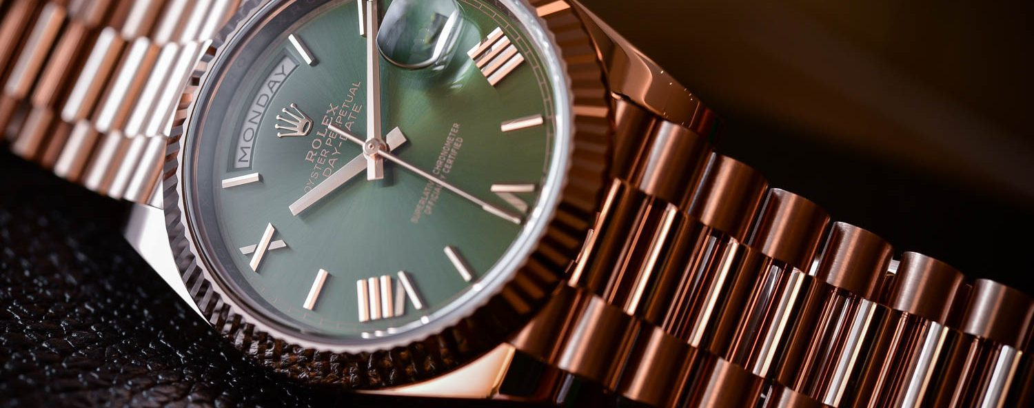 Rolex Day-Date 60th Anniversary Edition Green Dial - Ref. 228235