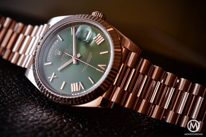 Rolex Day-Date 60th Anniversary Edition, the President's Watch with Green Dial (hands-on, specs & price)