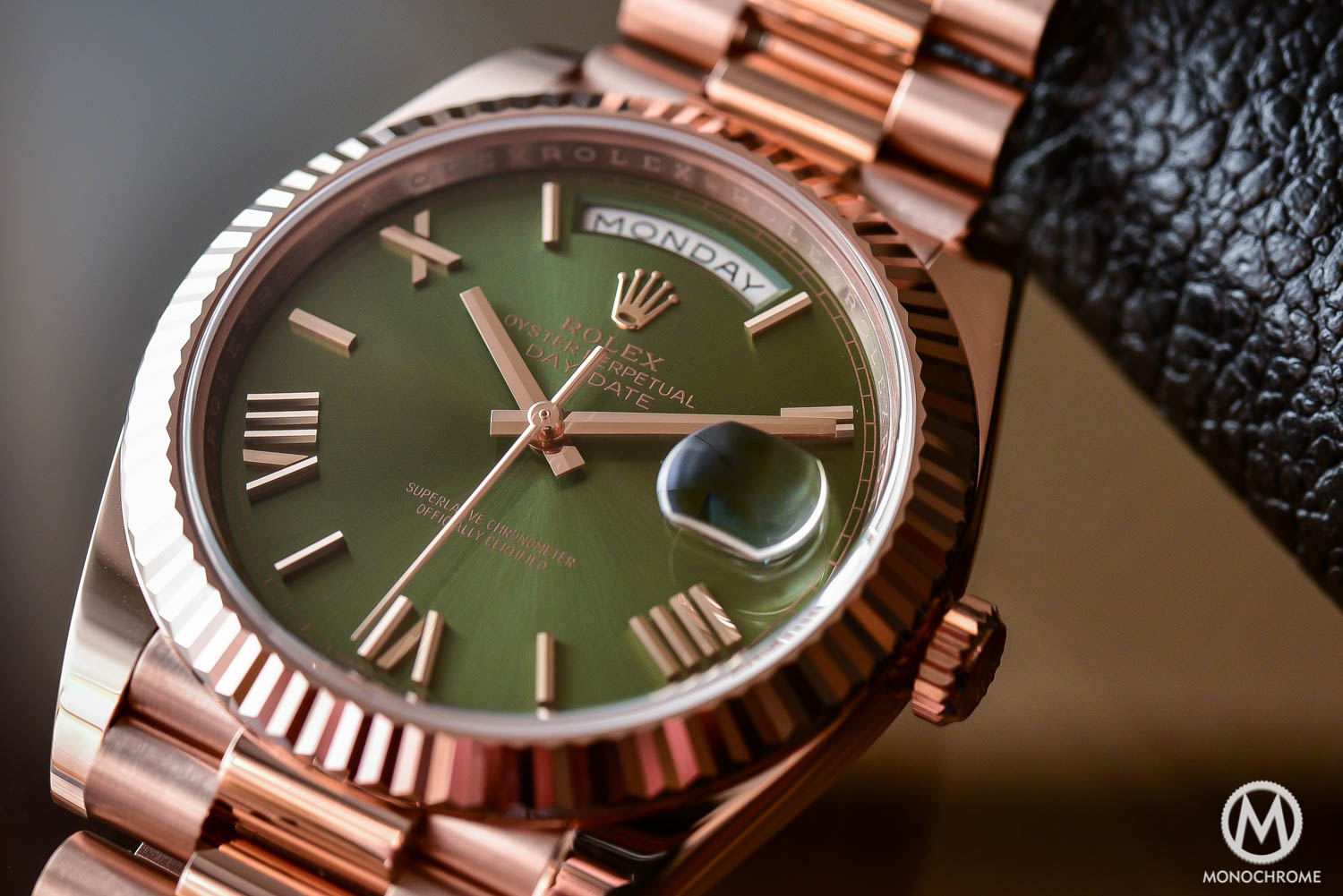 Rolex day date th anniversary edition the president s watch