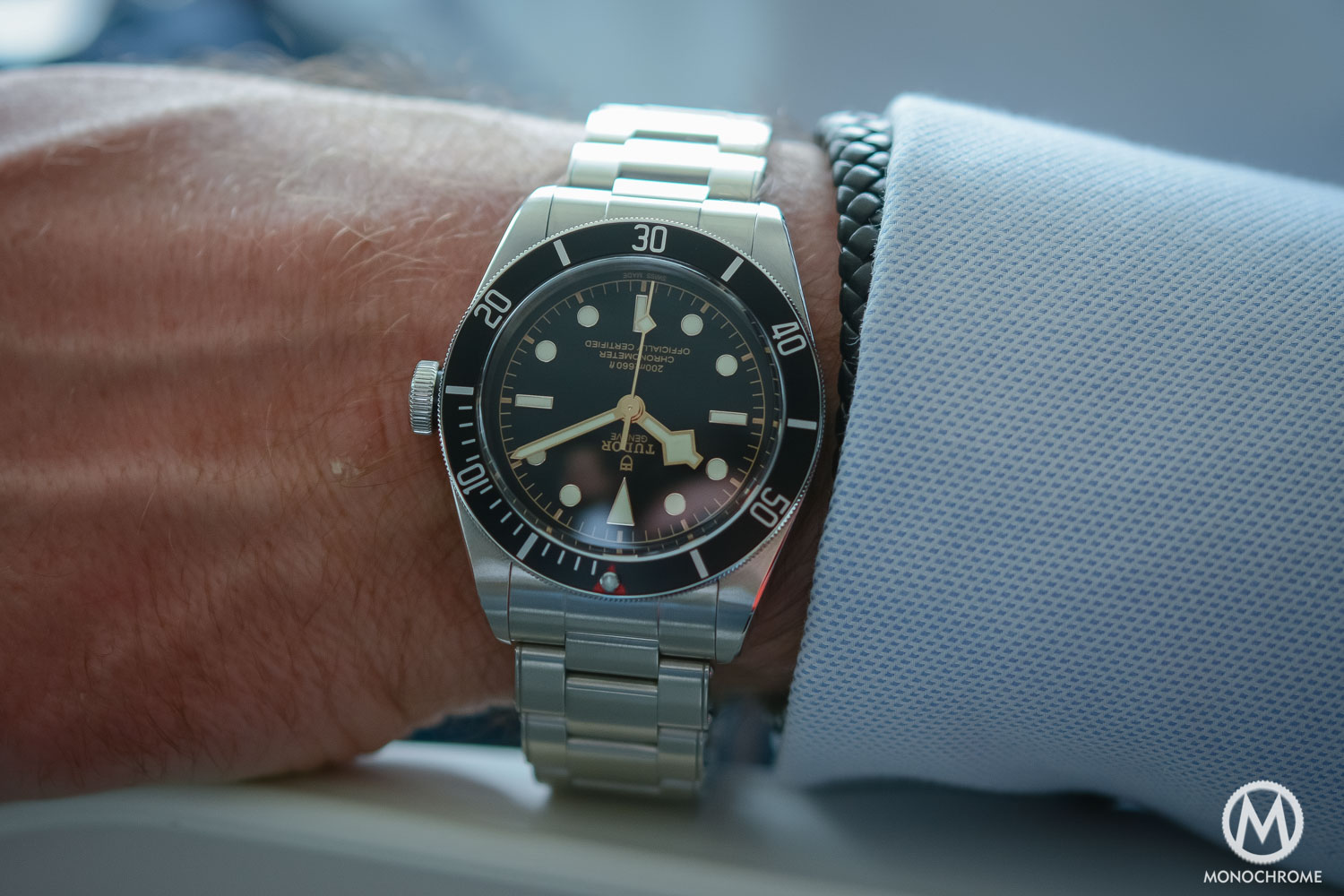 Tudor Heritage Black Bay 79230 with manufacture movement 2016