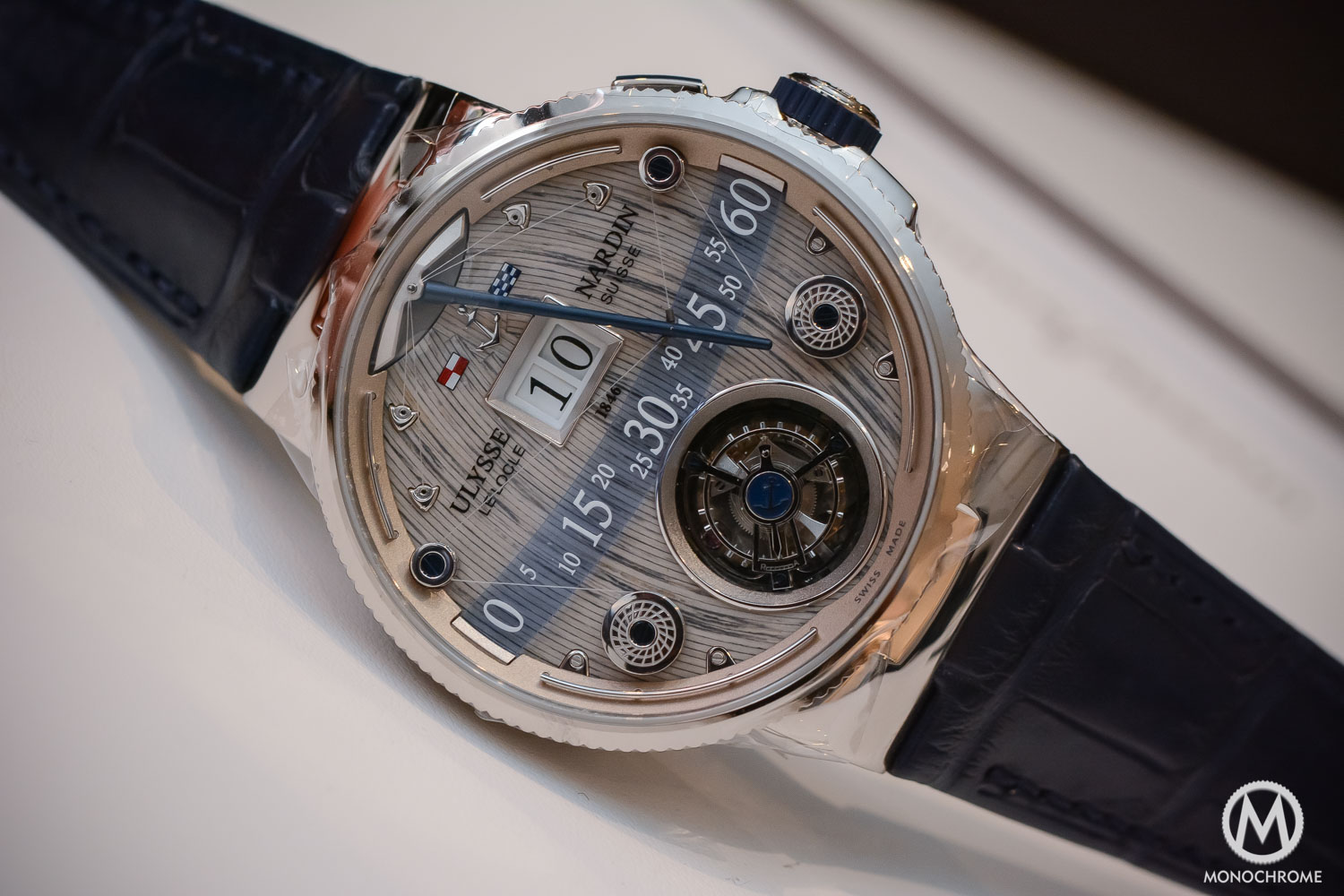 Ulysse Nardin Grand Deck Marine Tourbillon replica