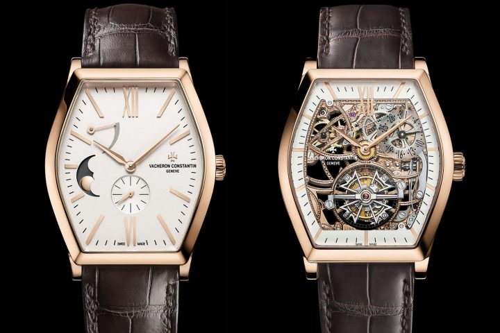 Vacheron Constantin Malte Moon Phase and Power Reserve - Malte Tourbillon Openworked - 2016 editions