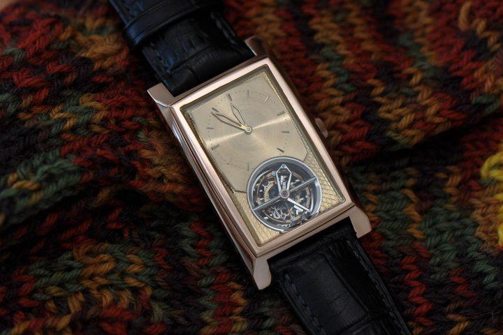 Kaj Korpela Timepiece No. 1 handmade tourbillon