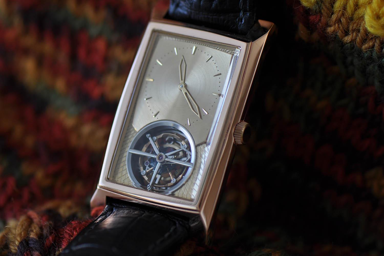 Kaj Korpela Timepiece No. 1 handmade tourbillon - 13