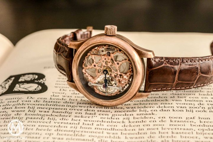 Kees Engelbarts Bronze Skeleton Tourbillon