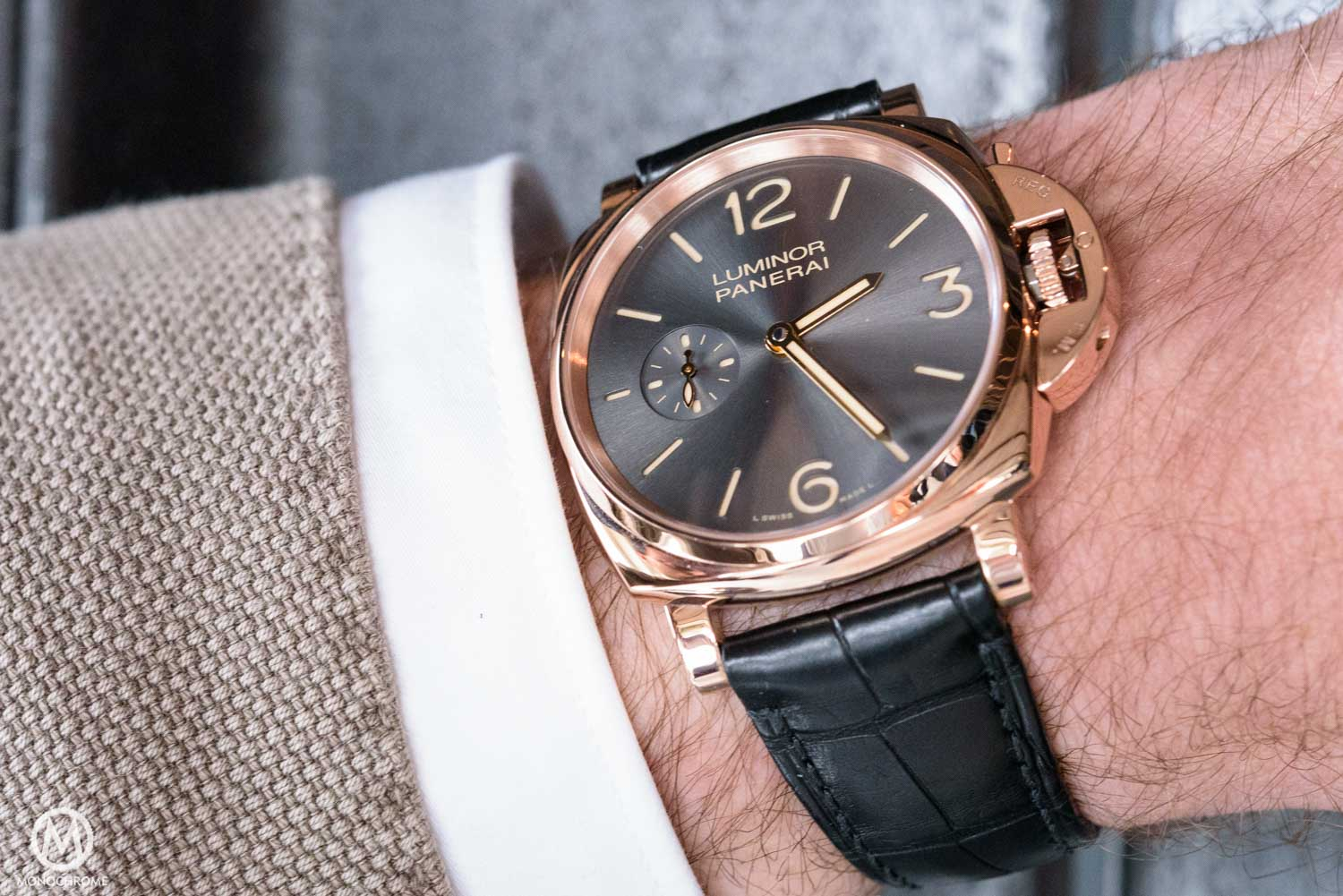 Panerai Luminor Due From Divers Watch To Dress Watch