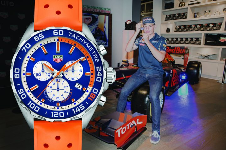 TAG Heuer Formula 1 Max Verstappen Special Edition