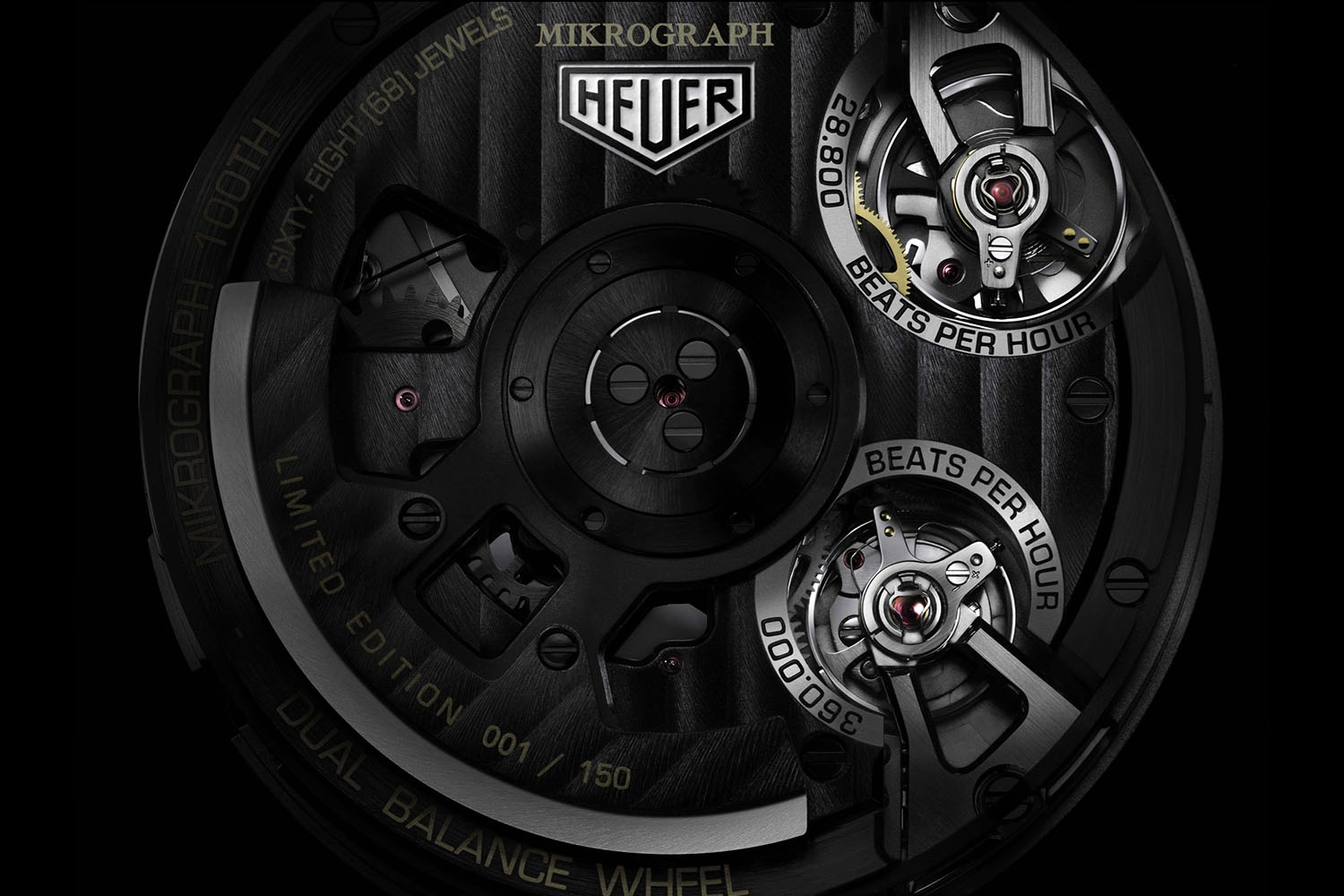 Tag Heuer Mikrograph 100th anniversary 2016