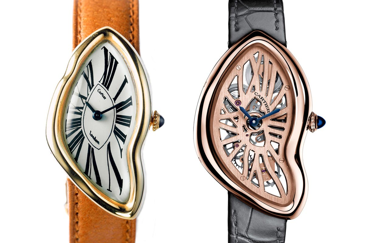 Cartier Crash 1967 and 2016