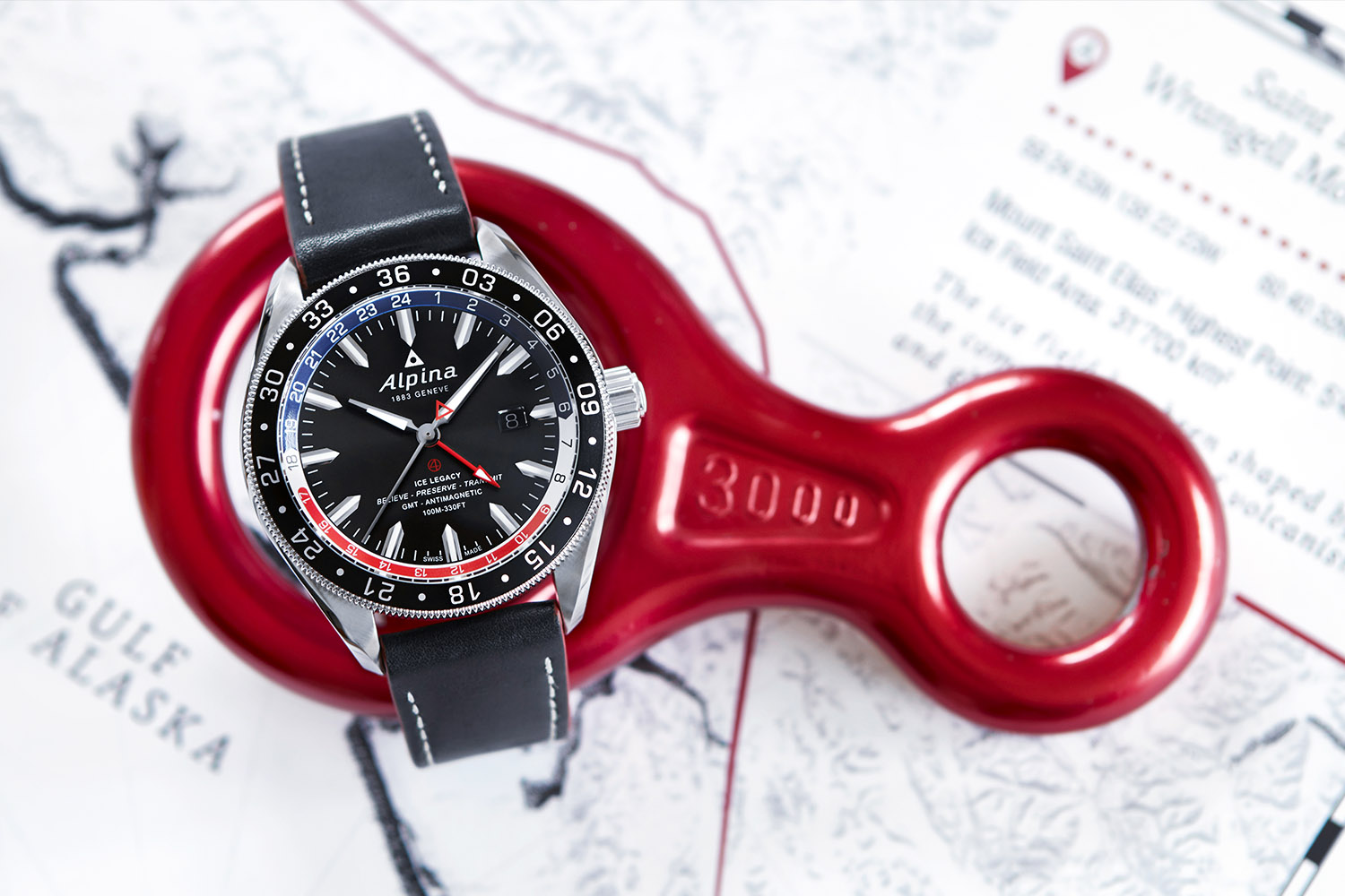 Alpina Alpiner 4 Automatic GMT business timer