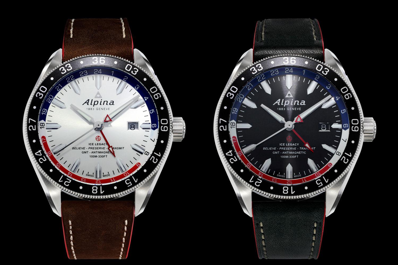 Alpinaalpinerautomaticgmt Monochrome Watches - Alpina gmt