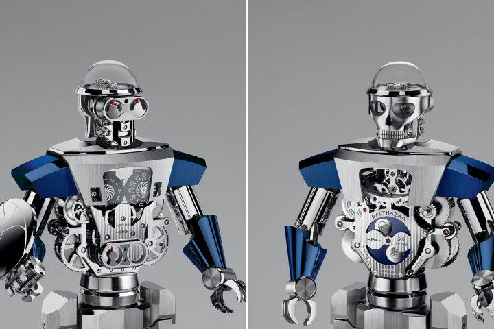 MB&F Balthazar Robot clock