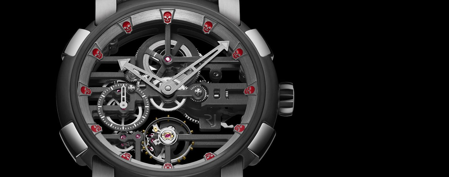 Romain Jerome Skylab Speed Metal 48 Skulls