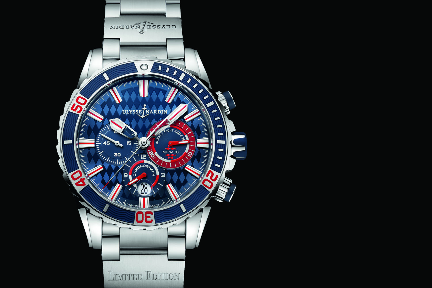 Ulysse Nardin Diver Chronograph Monaco copy watch